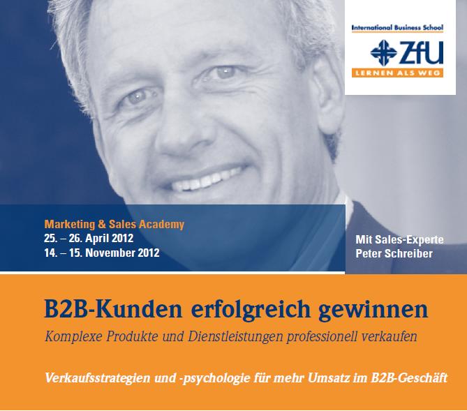 Erfolgreich verkaufen im B2B-Geschäft