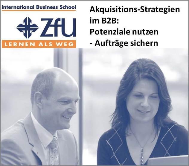 Akquisition neuer Kunden im B2B-Vertrieb