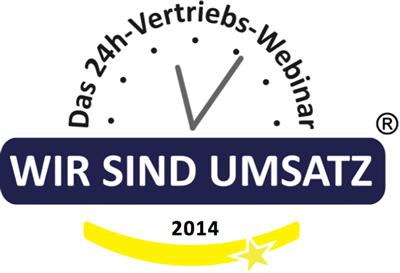 """Peter Schreiber als Referent bei """"Wir sind Umsatz"""" 2014"""