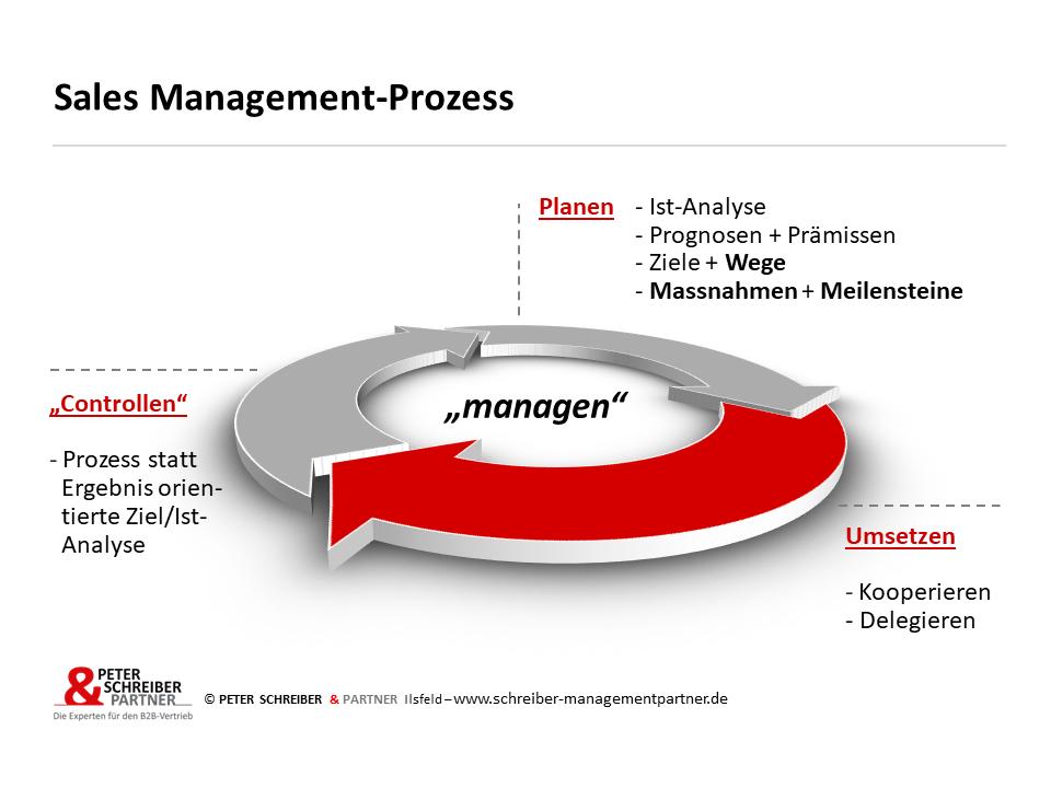 Sales-Management-Prozess
