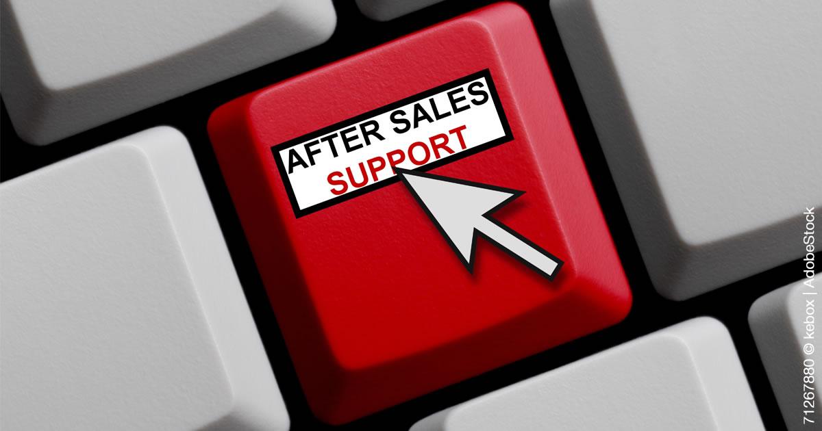 Verkauf von After-Sales Service-Leistungen